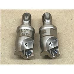 (2) FETTE 9089007 ECP V07-075TS118-I INDEXABLE FACE MILL
