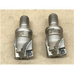 (2) FETTE 9089008 ECP V07-100TF130-I INDEXABLE FACE MILL