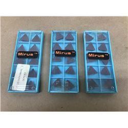 (30) MIRUS TPMN160612C CARBIDE INSERT