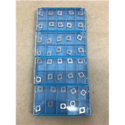 (40) INGERSOLL STK 9RC08 CNE323L10 CARBIDE INSERT
