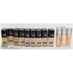 BAG OF ASSORTED COVERGIRL FOUNDATION