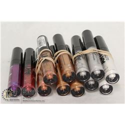 BUNDLE OF RIMMEL LIP ART GLITTER GLOSS