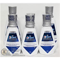 BAG OF 6 CREST MOUTHWASH