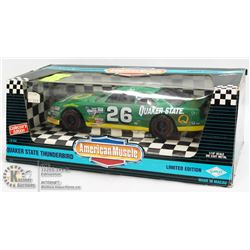 QUAKER STATE THUNDERBIRD ERTL AMERICAN MUSCLE 1:18