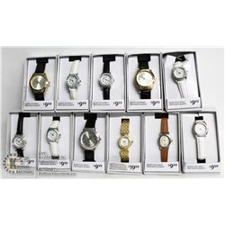 BAG OF 11 ASSORTED NEW WATCHES
