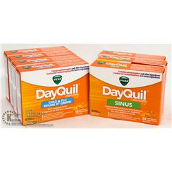 BAG OF DAYQUIL LIQUID TABS