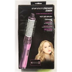 INFINITI PREMIER BY CONAIR HOT AIR CERAMIC BRUSH