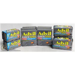 BAG OF ADVIL COLD AND SINUS CAPLETS