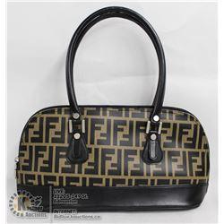 REPLICA BROWN FENDI HAND BAG
