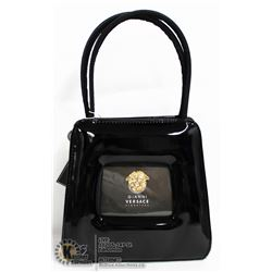 REPLICA GIANNI VERSACE BLACK MINI PURSE/HANDBAG
