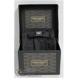 REPLICA GIORGIO ARMANI BLACK TIE WITH BOX