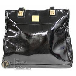 REPLICA VERSACE BLACK HAND BAG