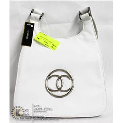 REPLICA WHITE CHANEL PURSE