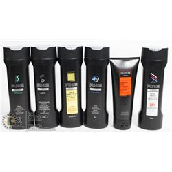 BAG OF AXE HAIR PRODUCTS INCL SHAMPOO