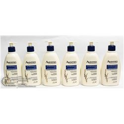 LOT OF 6 AVENO LOTION 354ML EACH