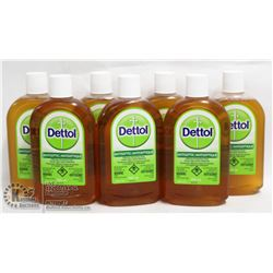 LOT OF 7 DETTOL ANTI SEPTIC 500ML EACH