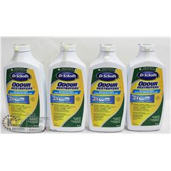 LOT OF 4 DR. SCHOLL'S ODOR DESTROYERS MEDICATED
