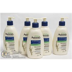 LOT OF 5 AVENO LOTION 354ML EACH