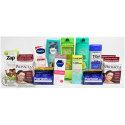 BAG OF ASSORTED HEALTH AND BEAUTY ITEMS INCL