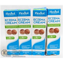 LOT OF 4 FLEXITOL ECZEMA CREAM