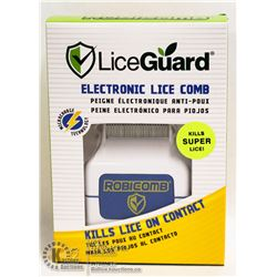 LICEGUARD ELECTRONIC LICE COMB