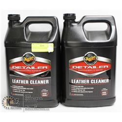 LOT OF 2 D181 4L LEATHER CLEANER