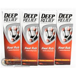 BAG OF DEEP RELIEF HEAT RUB
