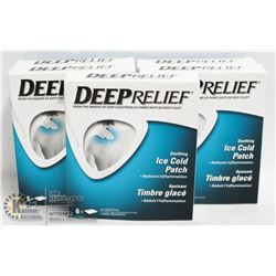 DEEP RELIEF ICE COLD PATCHES