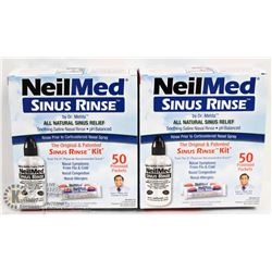 LOT OF 2 NEILMED SINUS RINSE