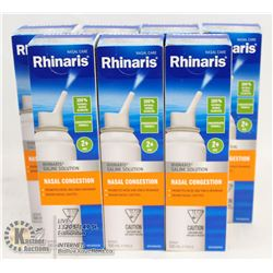 BAG OF RHINARIS SALINE SOLUTION
