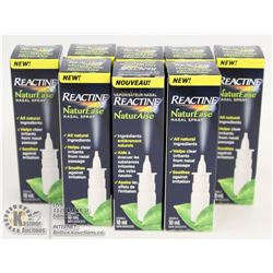 BAG OF REACTINE NATUR EASE NASAL SPRAY