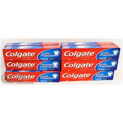 BAG OF COLGATE TOOTHPASTE