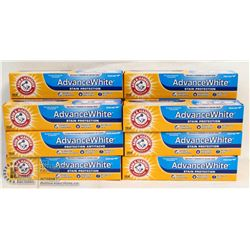 BAG OF ARM & HAMMER ADVANCE WHITE TOOTHPASTE