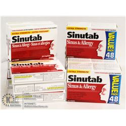 BAG OF MIXED SINUTAB SINUS AND ALLERGY