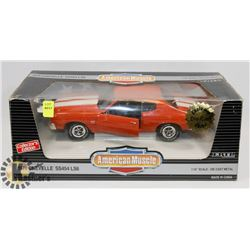 1970 CHEVROLET CHEVELLE SS454 LS6 DIE CAST CAR
