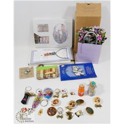 ESTATE FLAT OF COLLECTIBLES INCLUDING AVON
