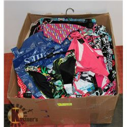 BAG OF ASSORTED WOMENS BIKNI TOPS AND BOTTOMS