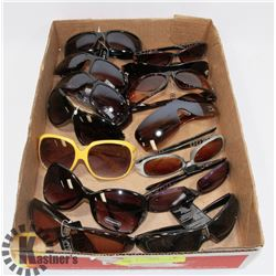 FLAT OF DESIGNER SUNGLASSES