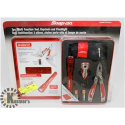 NEW SNAP ON 3PCE MULTI FUNCTIONAL TOOL, KEY