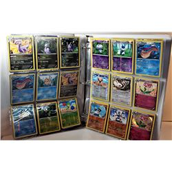13)  BINDER WITH 147 POKÉMON CARDS