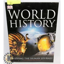 WORLD HISTORY ATLAS SOFTCOVER BOOK