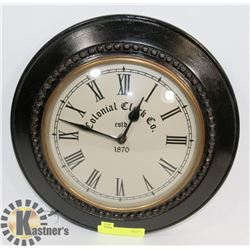COLONIAL CLOCK CO WALL CLOCK