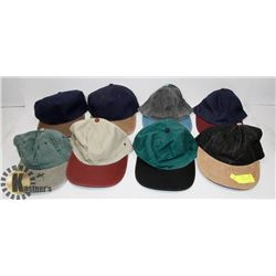 LOT OF 8 NEW MIXED SNAP BACK HATS