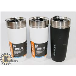 LOT OF 3 NEW STANLEY THERMOS