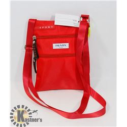 PRADA REPLICA RED BAG