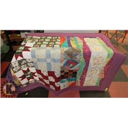 NEW 6'X4' LOCALLY HAND MADE QUILT