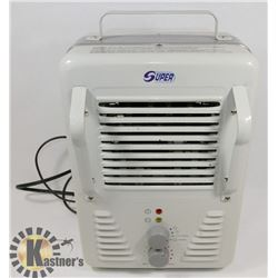 1500W METAL FORCED AIR ELECTRIC SPACE HEATER