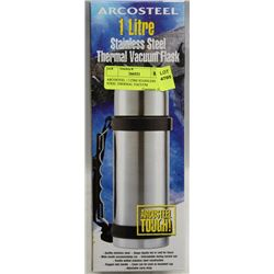 ARCOSTEEL 1 LITRE STAINLESS STEEL THERMAL VACUUM