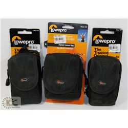 BOX OF DIGITAL CAMERA BAGS