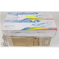 TWO BROTHER LASER TONER FOR PRINTERS W/